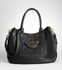 shoulder bags, amanda hobo, diaper bags, purs, tori burch, fashion styles, tory burch, leather bags, hobo bags