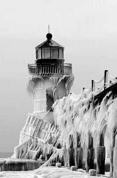 Lighthouse, Saint Joe, Michigan