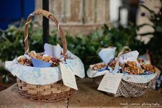 petal confetti, basket, church ceremony, wedding