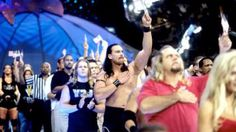 WWE Superstars and Divas like Booker T, JBL and Lilian Garcia tell the true story behind the live SmackDown, which took place two days after 9/11.