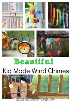 Kid Made Wind Chimes