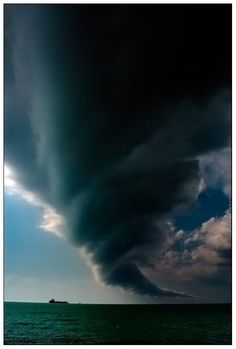 I found this picture of a cloud twister formation to be symbolic to Act 1 of the play. Prospero is the mastermind behind the violent storm and through magic, he oversees that the storm hits his victims and make sure they are deserted on his island. The three-dimensional effect and proportion of the twister is clearly emphasized.