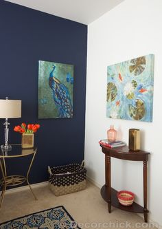 Living Room On Pinterest Navy Walls Color Palettes And Navy