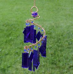 WIND CHIMES: glass wind chimes