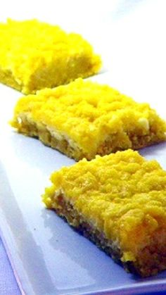 Lemon Cream Cheese bars easy and good
