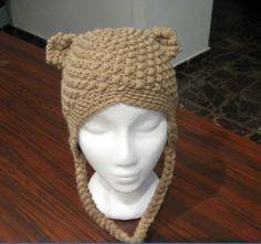 Bumpy Bear Beanie Crochet Pattern
