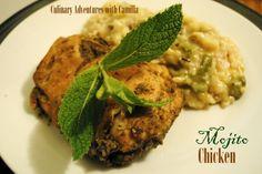 Culinary Adventures with Camilla: SRC: Mojito-Marinated Chicken