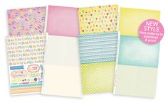 FREE Summer Beach printables – papers, toppers and more for your handmade cards. Enjoy! x