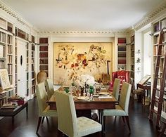 This is a room completed by Mica Ertegun of MAC II published in Architectural Digest.