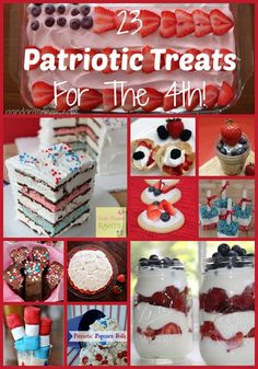 23 Patriotic Treats For The 4th!