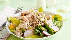 """Sheryl Crow's Tuna Salad: """"I grew up in a very small town [Kennett, Mo.] with no real ethnic food. There were no Mexican or Italian restaurants—and no Asian food, either. My mom was the first to buy a wok! I remember her making a dish and my dad saying, """"Why are there peanuts in my chicken?"""" She was adventurous when it came to food, and that rubbed off on me. But once I started touring, I was eating on the go and would grab tuna salad almost every day. My food choices then were about convenience. It wasn't until after my breast-cancer diagnosis [in 2006] that I began to focus on what I was eating.     When chef Chuck White joined me on the road, he put an end to my daily tuna and introduced variety to my diet. But when he does make tuna salad, he whips up a healthy version with apples or pears, which add nutrition and a delicious crunch.  """""""
