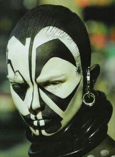Cara pintada