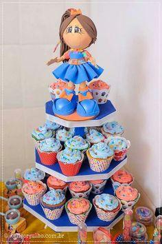 Fofucha con cupcake