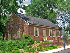 York Friends Meeting House, 100 block of W. Philadelphia St., York, Pennsylvania. The Quakers were active in the Underground Railroad movement in York County and held several rallies here.