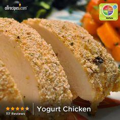 Yogurt Chicken from Allrecipes.com #myplate #protein #dairy