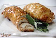 Mario Batali's Stuffed Turkey #thechew