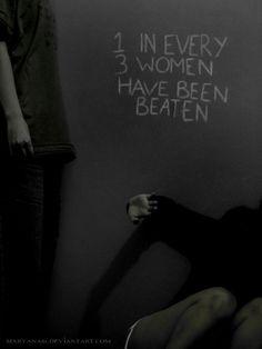 1 in 3 women has been beaten