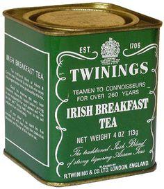 irish breakfast tea.