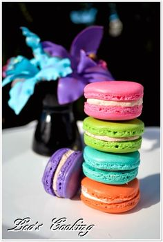 Lea's Cooking: How to Make French Macarons Cupcak, Lea Cook, Food, French Macaron, Cooking How To'S, Featur Recip, Dessert