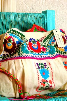 Mexican Embroidered Purse