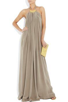 #pretty  Grey dress #2dayslook #fashion #nice #Greydress #dress   www.2dayslook.com