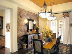 Dining Room Characteristics : Hart Interior Design : Dining Rooms : Pro Galleries : HGTV Remodels