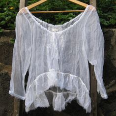 Sheer Fall Prairie Top by MegbyDesign on Etsy