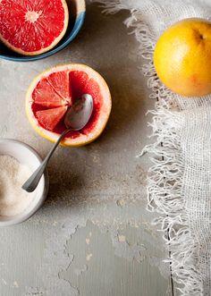 grapefruit with honey