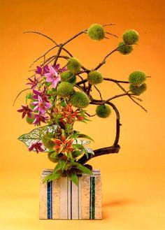 Shape art and form of ikebana on pinterest ikebana for Japanese flower arranging crossword clue