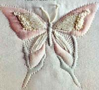 Trapunto Butterfly