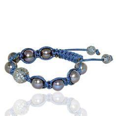 Blue Sapphire Gemstone Beads Macrame Bracelet    Specifications:    Gross wt(gms): 18.74    Silver wt(gms): 5.338    Colourstone wt(cts): 3.11