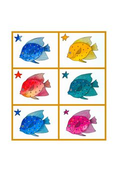 Fish Illustration Print Drawing Watercolour Painting by caitlihne, $12.00