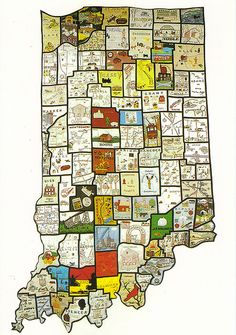 Indiana - I love this map!!