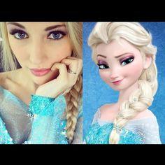Frozen Look Alike... You won't believe this! (Photo Album)