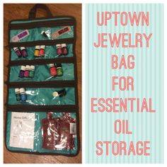Thirty-One Uptown Jewelry Bag for storing essential oils