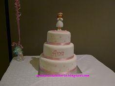 JuLiasCA Boutique de tartas: Tarta de primera Comunión Ana