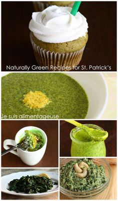 Naturally Green Foods for St. Patrick's Day - Je suis alimentageuse