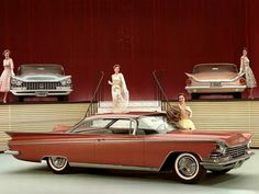 BUICK 1959 SHOW CARS WITH MODELS!