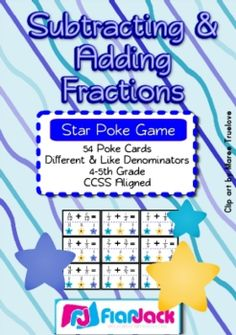 Adding and subtracting fractions color worksheet. 25 fraction problems ...