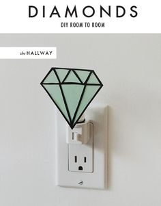 Diamond night light