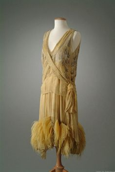 Peggy Hoyt evening dress, circa 1927.