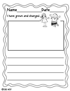 I have grown and changed writing prompt {freebie}Great writing prompt for end of the year! I use along with Leo the Late Bloomer!Tarawww....