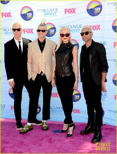 No Doubt - Teen Choice Awards 2012. So happy they're back!!!!!