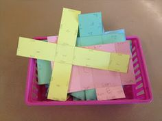 Hands-on Surface Area of Prisms