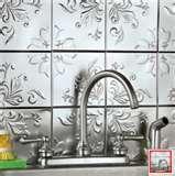 kitchens, back splashes, stick, tin tiles, tins