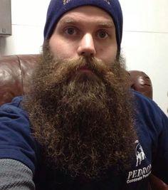 beautiful full thick bushy beard and big mustache beards bearded man men long natural length epic level bearding #beardsforever