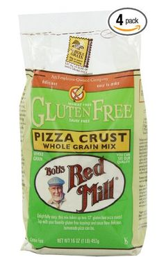 Bob's Red Mill Gluten Free Pizza Crust Mix, 16-Ounce Bags (Pack of 4) for Only $2.84 Each!