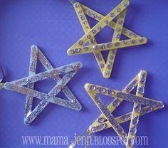 popsicle stick stars