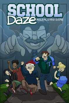 Game Review: School Daze Roleplaying Game by Tracy Barnett from Sand & Steam Productions