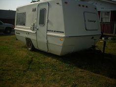 "1973 15' Amerigo Travel Trailer   Bristol, WI   Fiberglass RV's For Sale-our ""Before"" travel trailers, camper trailer"